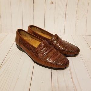 Mezlan Shoes - Mezlan Exotic Lizard Loafers (8M)